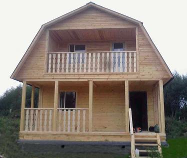 Проектирование и строительство деревянных домов из бруса