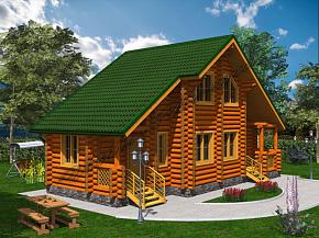 проекты домов бань
